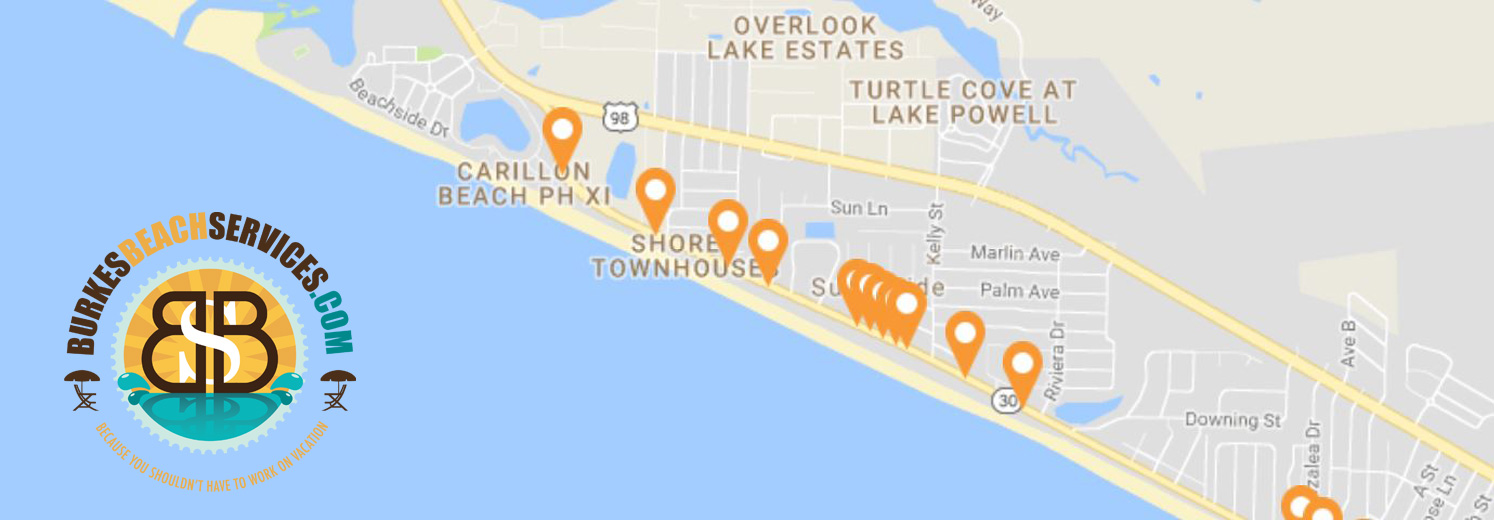 West Bay County Beach Access Points
