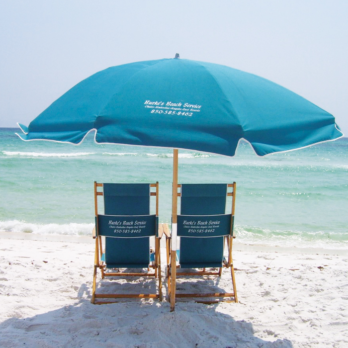 Beach Chairs And Umbrella Full Service
